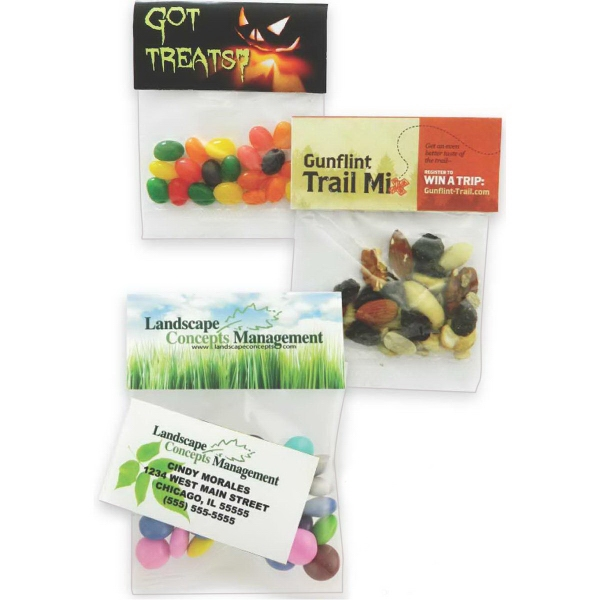 Item #HBS-CBG Small Header Bag with Trail Mix