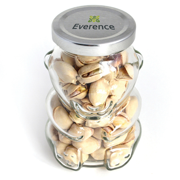 Item #80-00310 Big Bear Jar - Pistachios, Full Color Digital