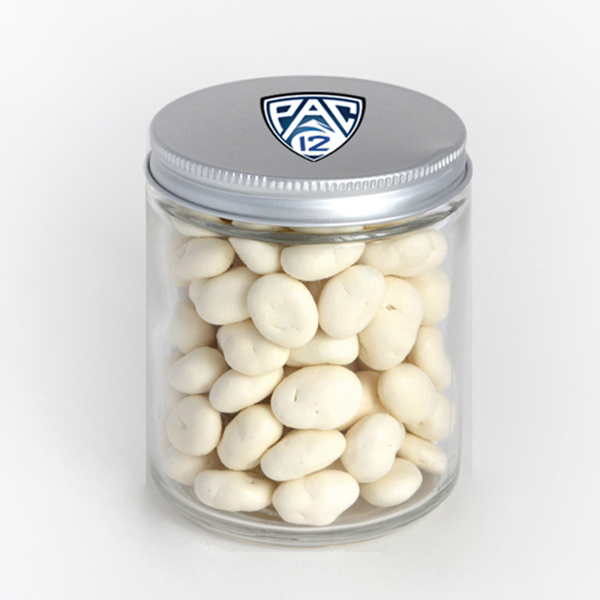 Item #80-00413 Glass Jar - Yogurt Raisins, Full Color Digital