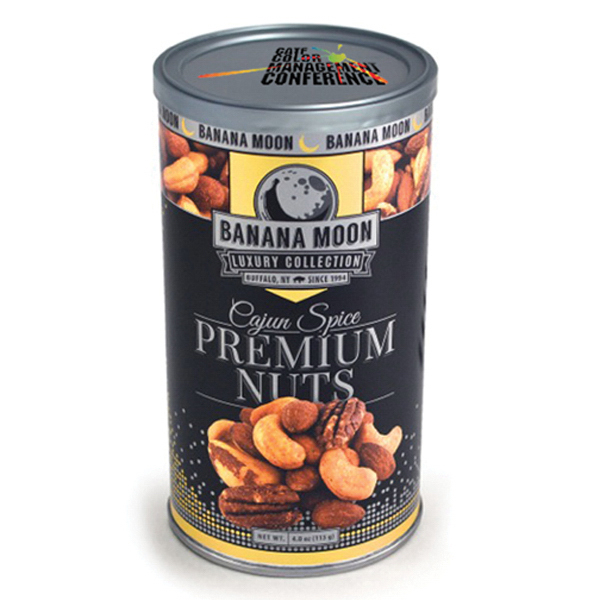 Item #80-00950 Banana Moon Luxury - Cajun Spice Nuts, Full Color Digital