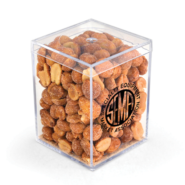 "Item #00207 3"" Geo Container - Honey Roasted Peanuts"