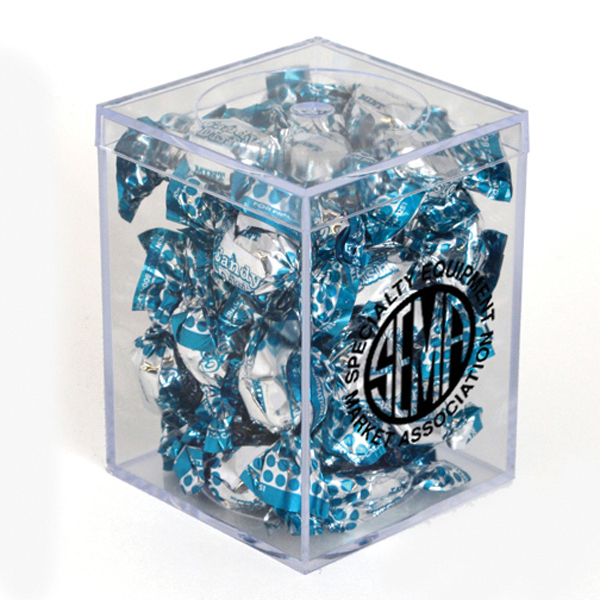 "Item #00202 3"" Geo Container - Candy Dish Mints"