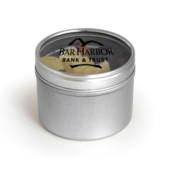 Item #00615 Round Window Tin - Cranberry Cocktail