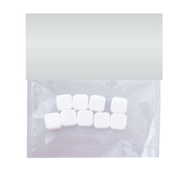 Item #HB19-PR-MINTS Large Candy Bag (with Header Card) with Printed Mints