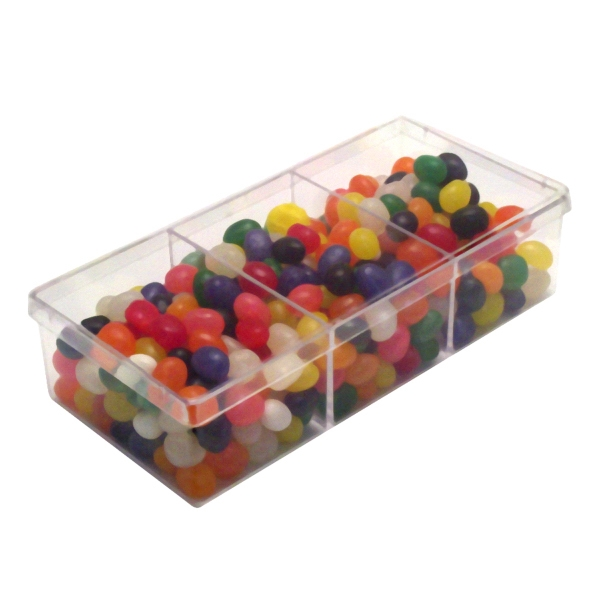 Item #SP3WAY-BEANS 3way Show Piece with Corporate Jelly Beans