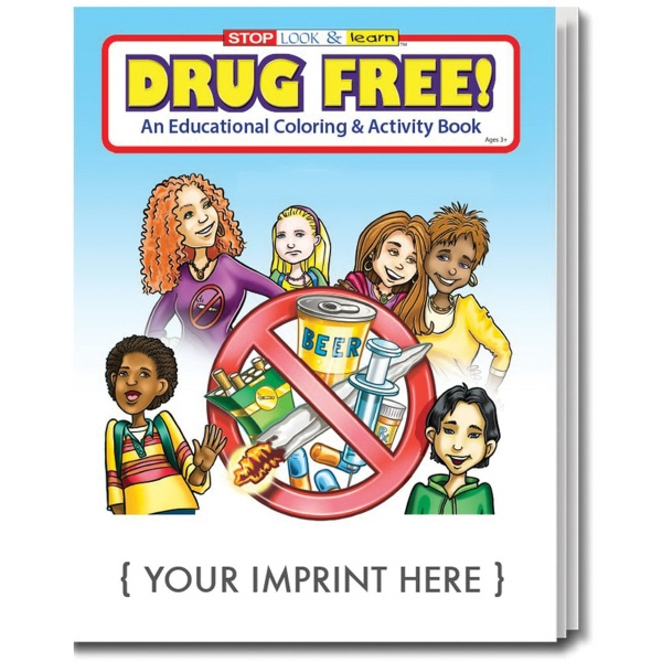 Item #0105 Drug Free Coloring Book