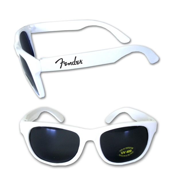 Item #BEACH E627 WH Stylish Fashion Sunglasses With UV Protection - White - E627