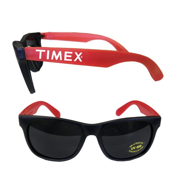 Item #BEACH E627RE Stylish Fashion Sunglasses With UV Protection - Red E627