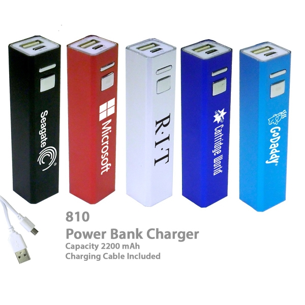 Item #CHARGER E810A Superior 2200 mAh Power Bank Portable Charger E810