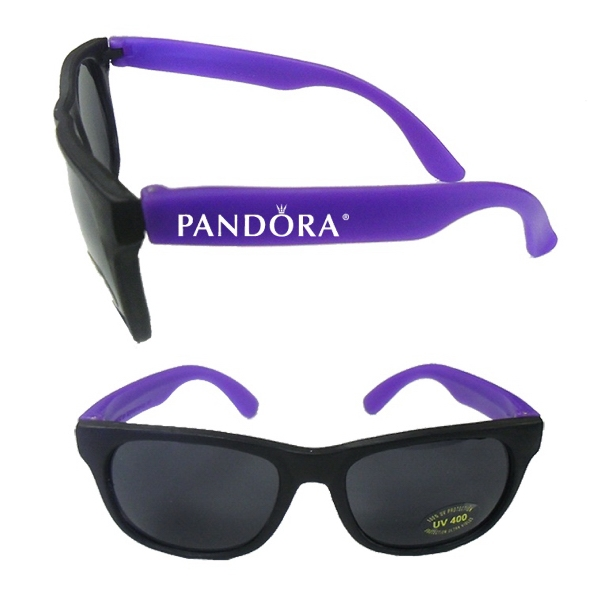 Item #BEACH E627 Stylish Fashion Sunglasses With UV Protection - Purple E627