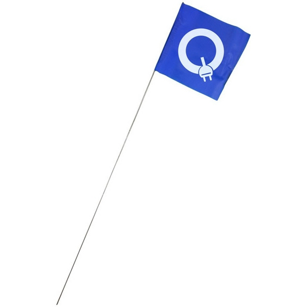 Item #BA299 Rigid Marker Banner Flag