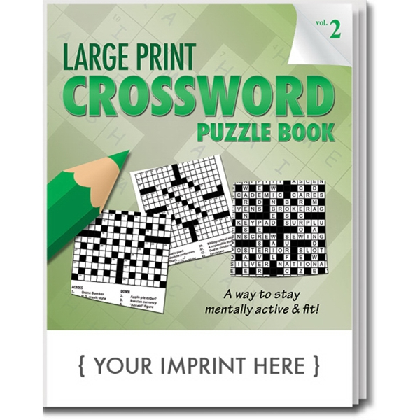 Item #1901PP PUZZLE PACK, LARGE PRINT Crossword Puzzle Pack - Volume 2