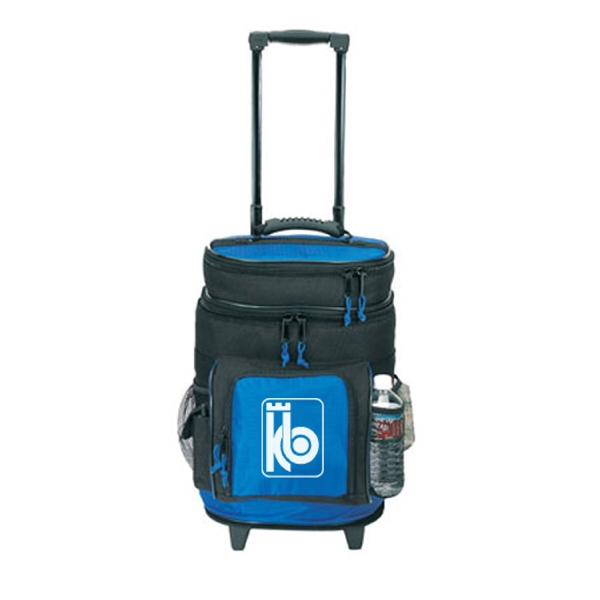 Item #B-8511 Poly Deluxe Rolling Cooler Bag