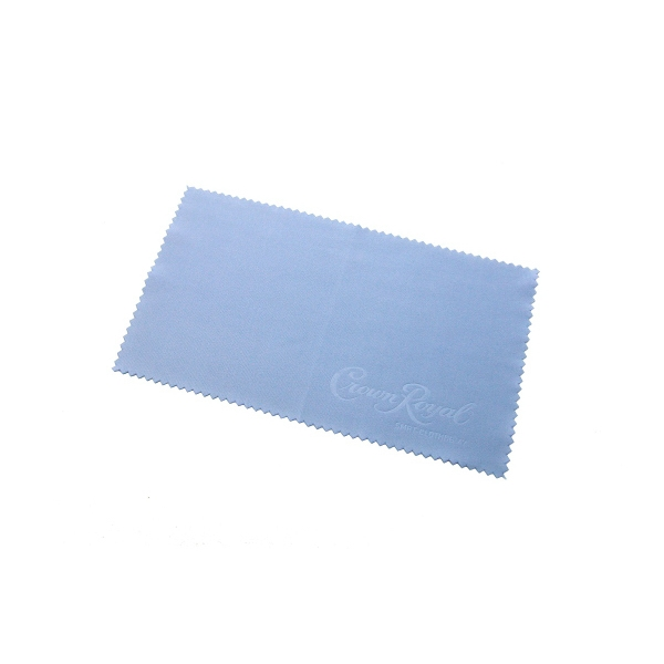 "Item #SMRT-CLOTHDB47 Debossed 4"" x 7: Microfiber Cloth"