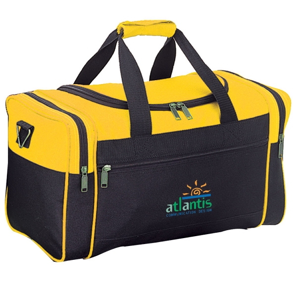 Item #B-8920 Poly Travel Duffel Bag