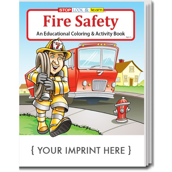 Item #0192 Fire Safety Coloring Book