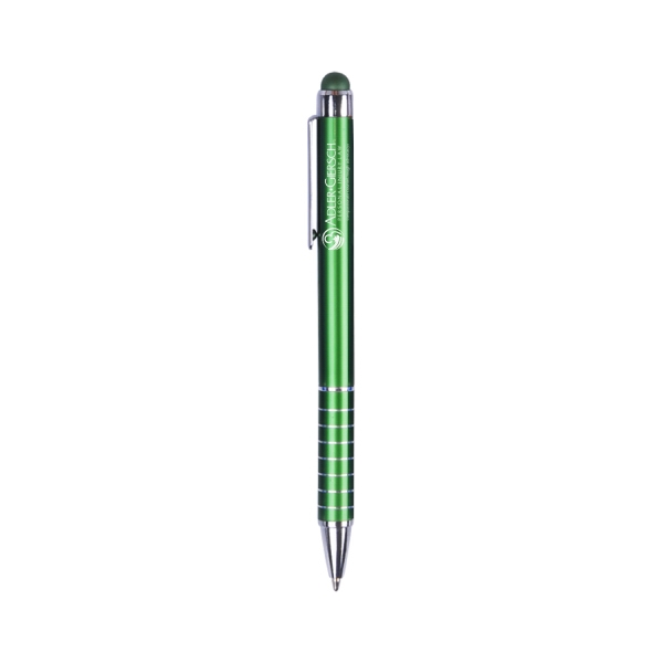 Item #PR-1012 Metal Twist Action Ballpoint Stylus Pen