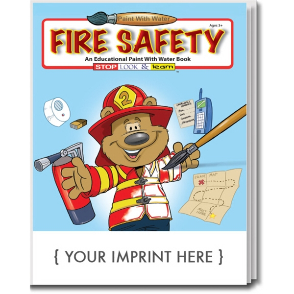 Item #1805 Fire Safety Paint With Water Book