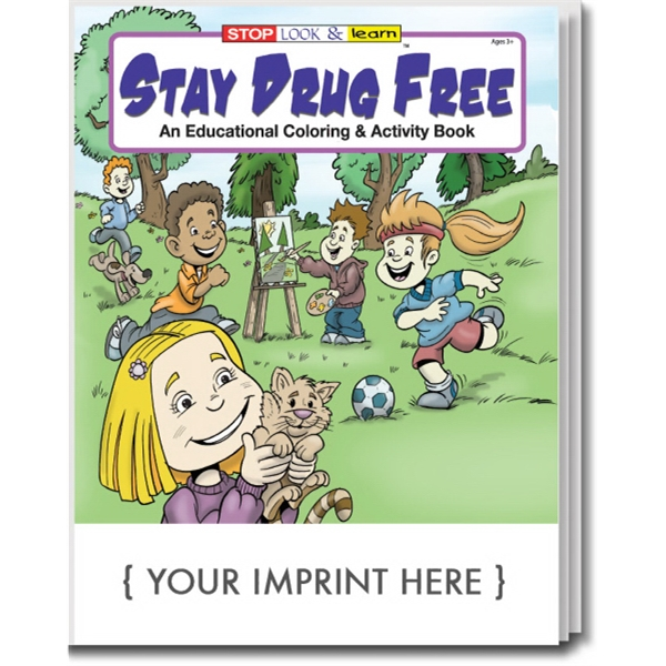 Item #0110 Stay Drug Free Coloring and Activity Book