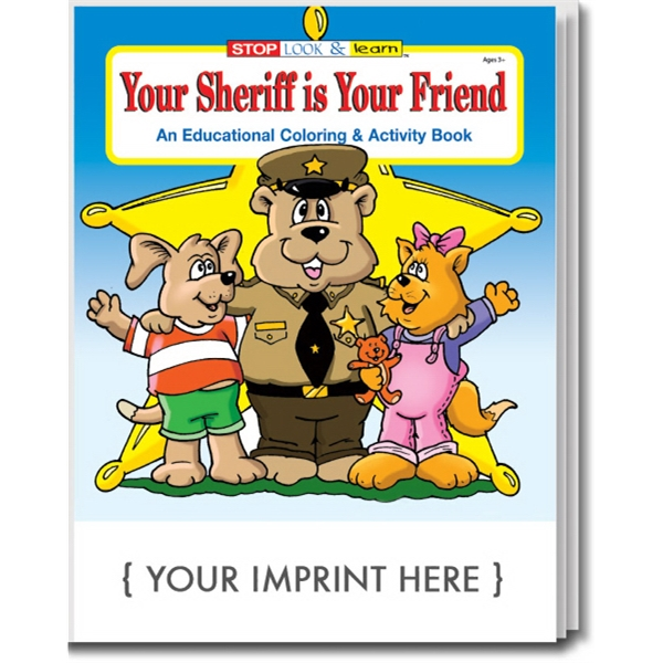 Item #0150 Your Sheriff is Your Friend Coloring and Activity Book