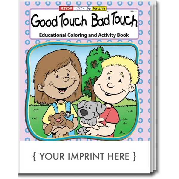 Item #0185 Good Touch Bad Touch Coloring and Activity Book