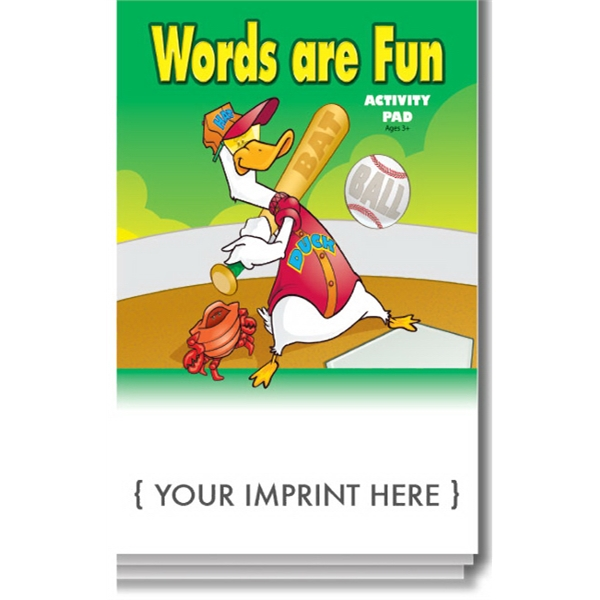 Item #0094 Words are Fun Activity Pad