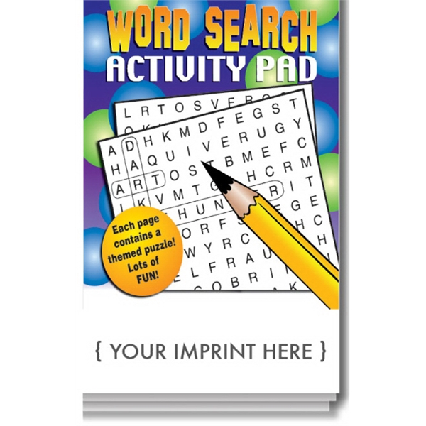 Item #0095 Word Search Activity Pad
