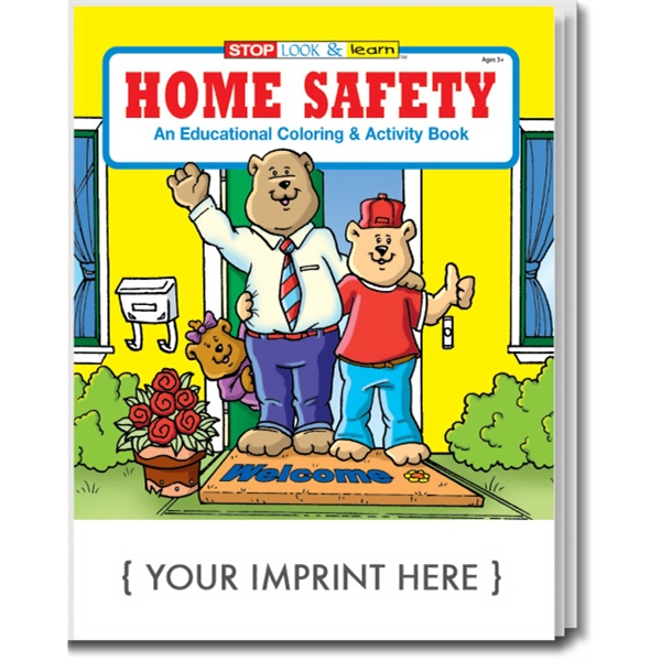 Item #0210 Home Safety Coloring and Activity Book