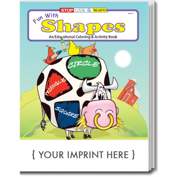 Item #0229 Fun with Shapes Coloring Book