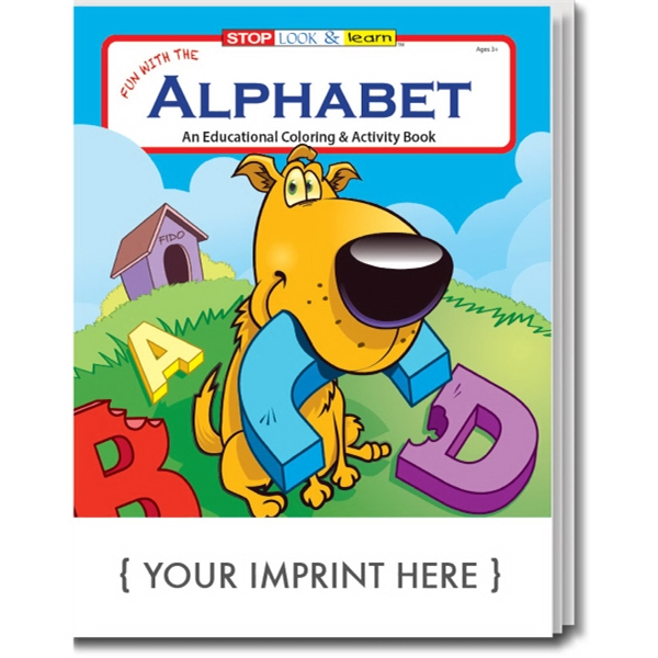 Item #0255 Fun with the Alphabet Coloring Book
