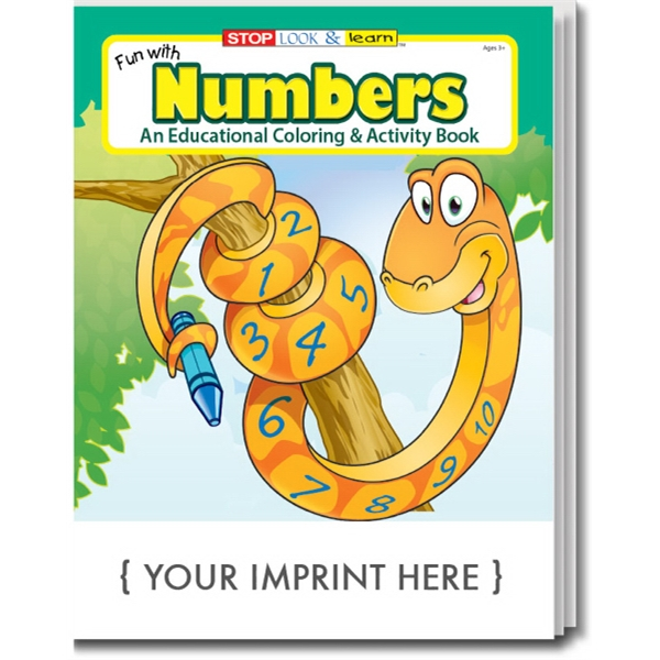 Item #0244 Fun with Numbers Coloring Book