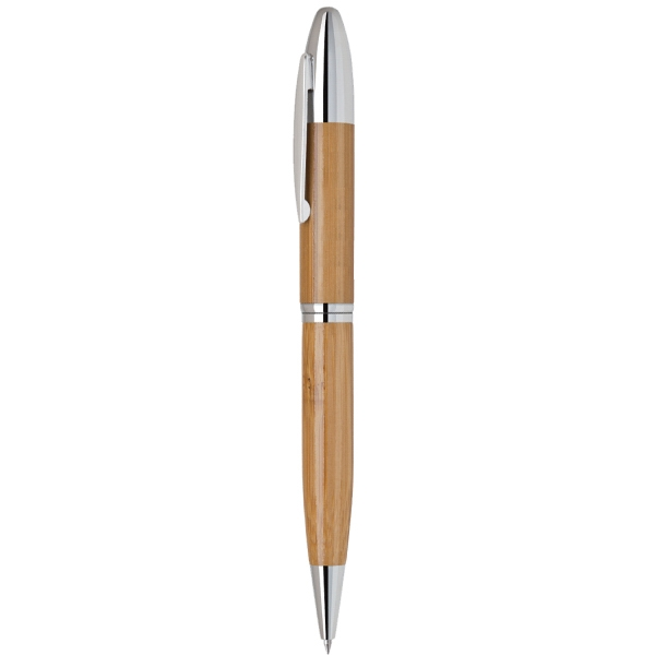 Item #PECO-30810 Bamboo Twist Action Ballpoint Pen