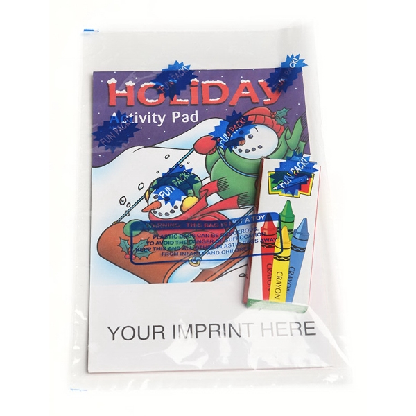 Item #0509FP Holiday Activity Pad Fun Pack