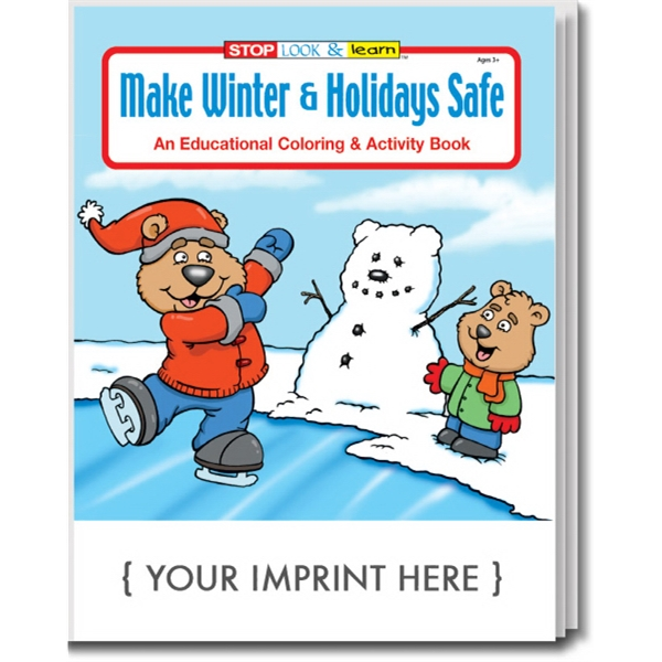 Item #0510 Make Winter & Holidays Safe Coloring and Activity Book