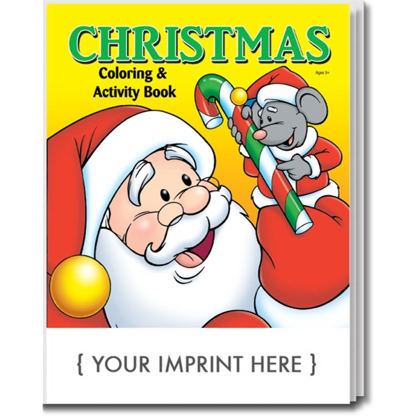 Item #0525 Christmas Coloring and Activity Book