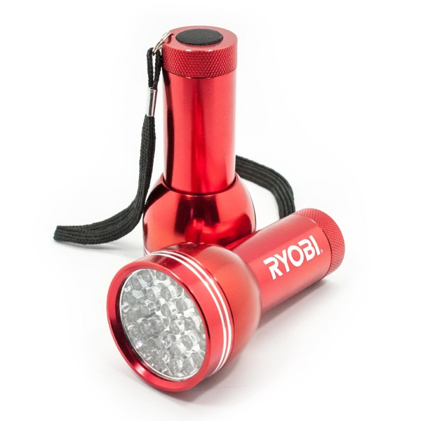 Item #LL204 28 LED Aluminum Flashlight