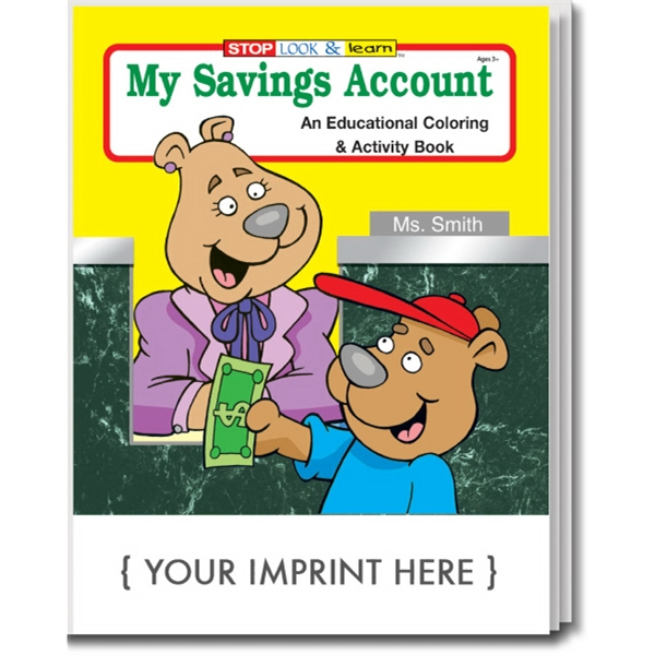 Item #0545 My Savings Account Coloring and Activity Book