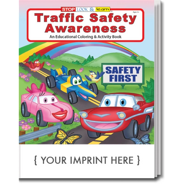 Item #0269 Traffic Safety Awareness Coloring Book