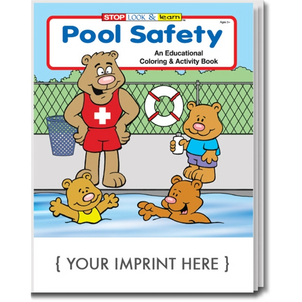 Item #0295 Pool Safety Coloring and Activity Book