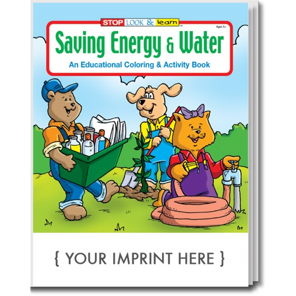Item #0320 Saving Energy and Water Coloring and Activity Book