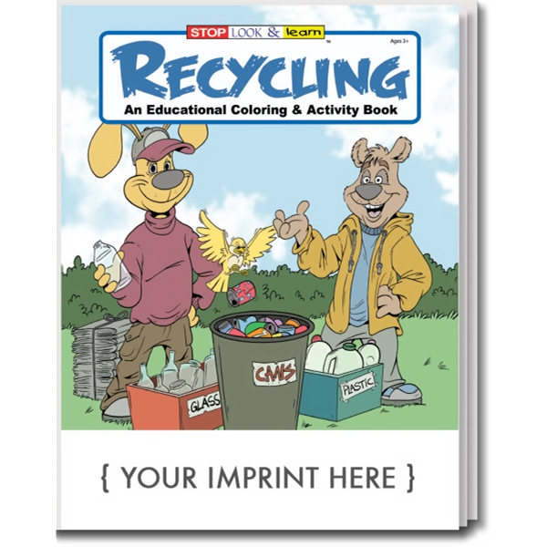 Item #0325 Recycling Coloring and Activity Book