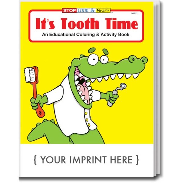Item #0335 It's Tooth Time Coloring and Activity Book