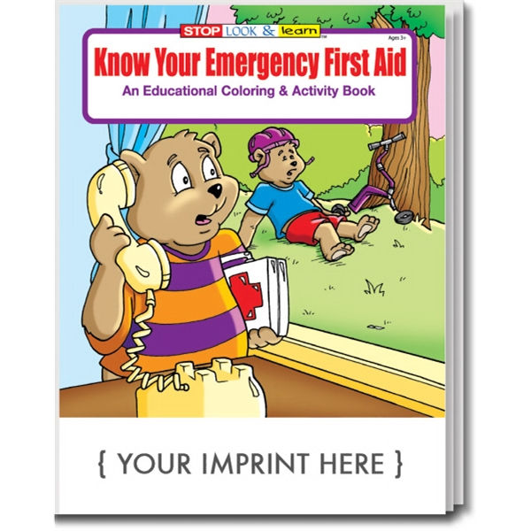 Item #0350 Know Your Emergency First Aid Coloring and Activity Book