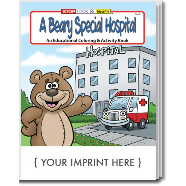 Item #0395 A Beary Special Hospital Coloring And Activity Book