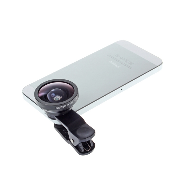 Item #DW-1022 Super Wide Universal Clip on Camera Lens