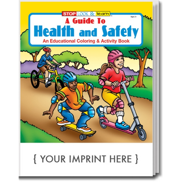 Item #0450 A Guide to Health and Safety Coloring and Activity Book