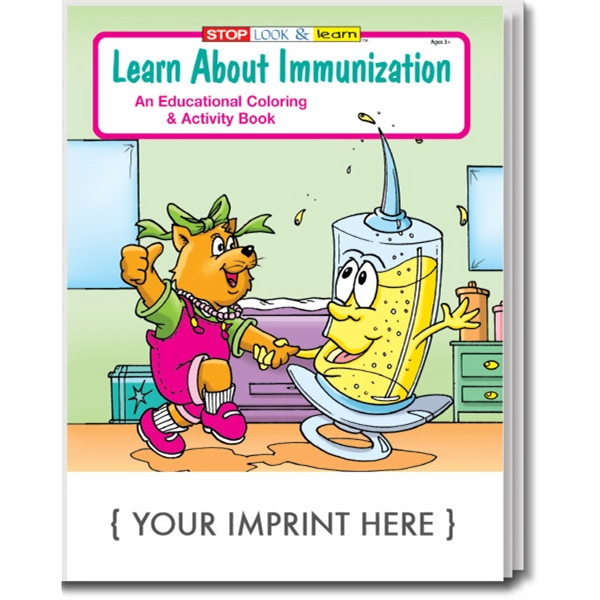 Item #0420 Learn About Immunization Coloring and Activity Book