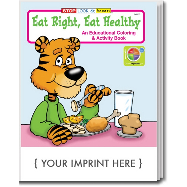 Item #0430 Eat Right, Eat Healthy Coloring and Activity Book