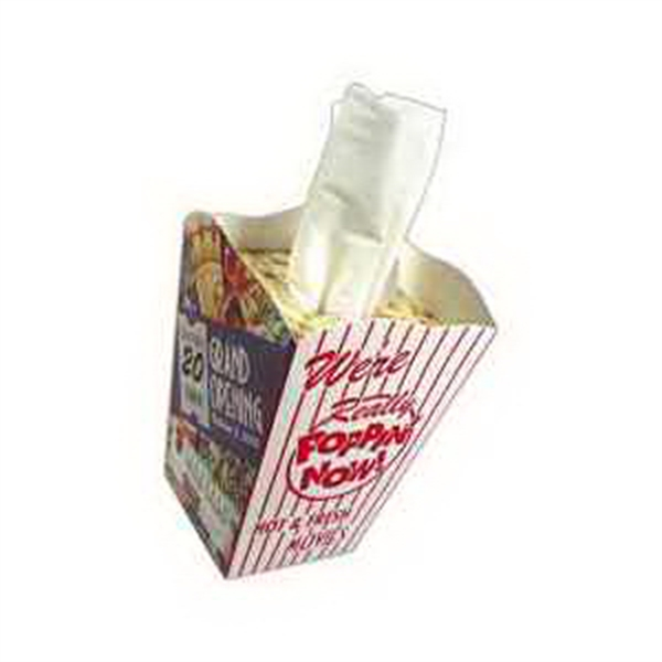 Item #TP031 Novelty Popcorn Tissue Tub
