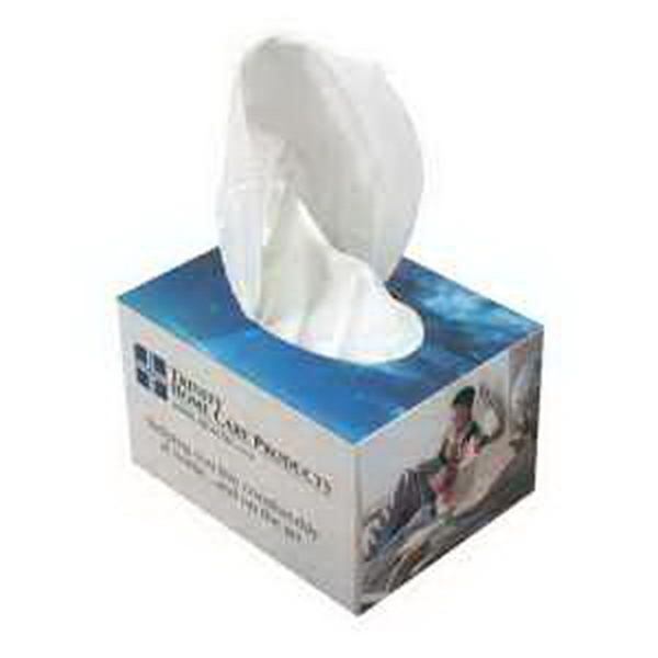 Item #TP004 Cube Shape Facial Tissue Box